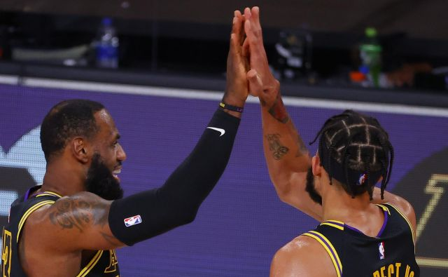 Tudi košarkarski zvezdnik LeBron James je pozval k bojkotu. FOTO: Kevin C. Cox/Afp