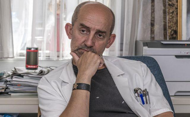 Miran Pustoslemšek, psihiater, vodja Enote za forenzično psihiatrijo FOTO: Jaka Arbutina