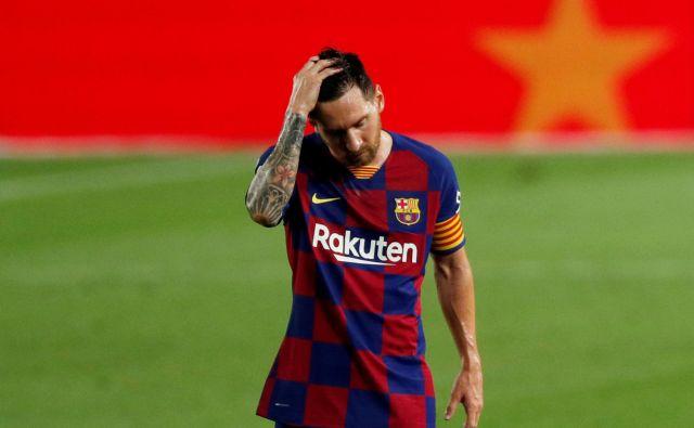 Lionel Messi se je znašal na razpotju imenitne nogometne poti.<br /> Foto Albert Gea/Reuters
