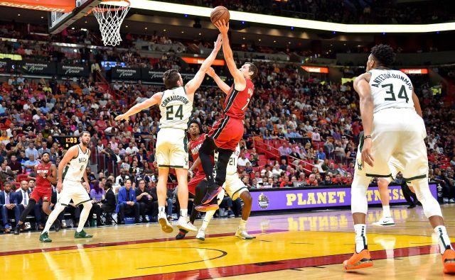 Gorana Dragića čaka vznemirljiv dvoboj s košarkarji Milwaukeeja. FOTO: Steve Mitchell/USA Today Sports