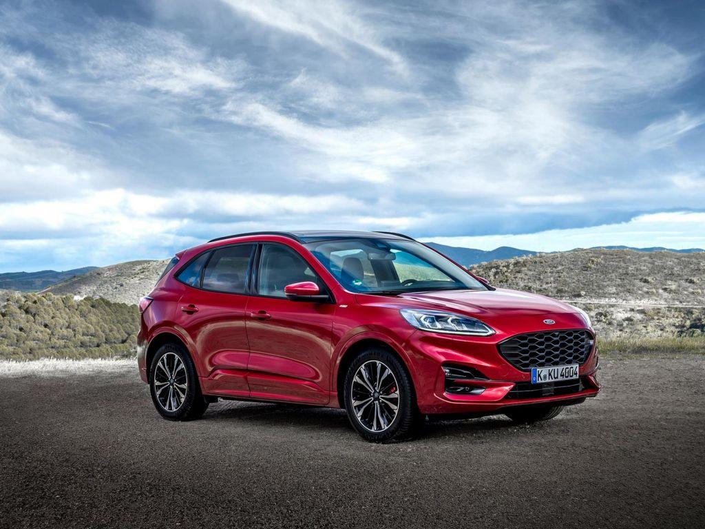 Nova Ford Kuga prinaša športnost za vso družino