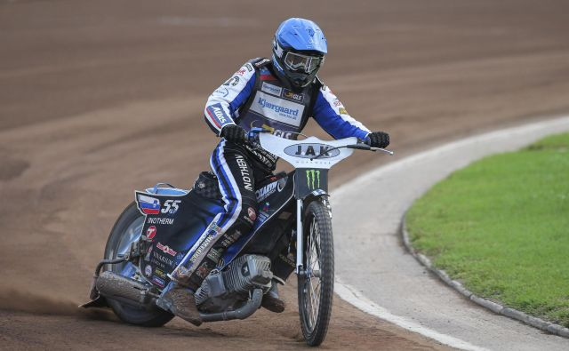 Matej Žagar v svoji Poljski ni bil med najhitrejšimi na obeh dirkah za SP. FOTO: Suhadolnik Jože
