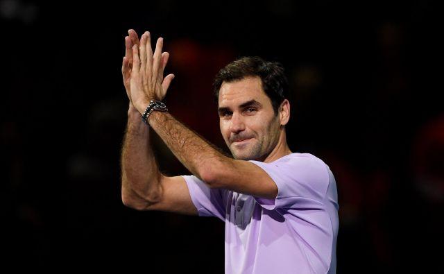Roger Federer se je ob okrevanju po težavah s kolenom odločil, da ga ne bo v New Yorku, obenem pa tudi ni navdušen nad Đokovićevim ustanavljanjem združenja igralcev. FOTO: Tony O'brien/Reuters