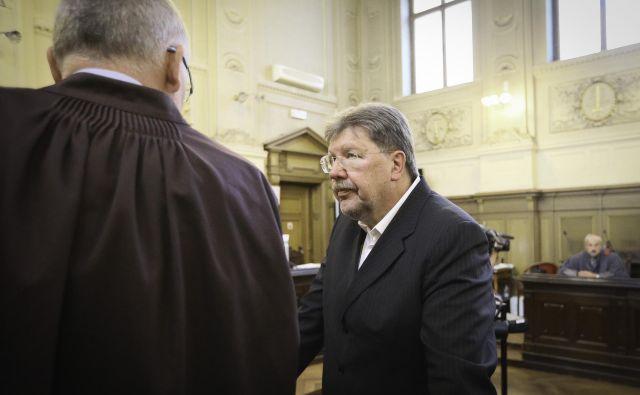 Igor Bavčar je priznal napake pri vodenju Istrabenza, zanikal pa vsakršno kazensko odgovornost. FOTO: Jože Suhadolnik/Delo