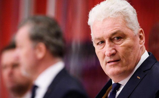 Češki hokejski selektor Miloš Riha je preminil. FOTO: Erik Simander/AFP