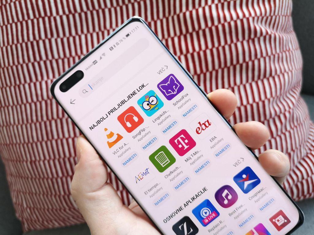 Izkoristite zmožnosti Huaweijevega telefona z AppGallery in Petalom