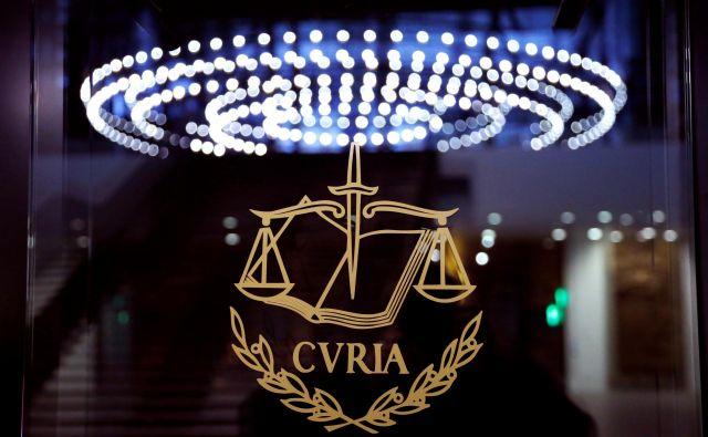 Sodba sodišča EU bo predvidoma znana v nekaj mesecih. FOTO: François Lenoir/Reuters