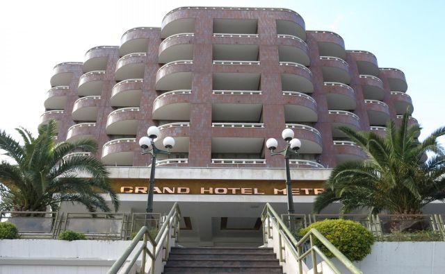 Grand hotel Metropol – nekoč prvi, zdaj zadnji v Portorožu<br /> FOTO: Boris Šuligoj/Delo