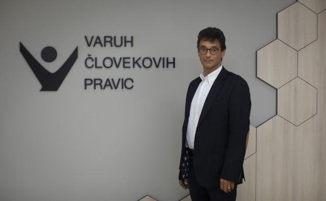 Peter Svetina, varuh človekovih pravic. FOTO: Voranc Vogel/Delo