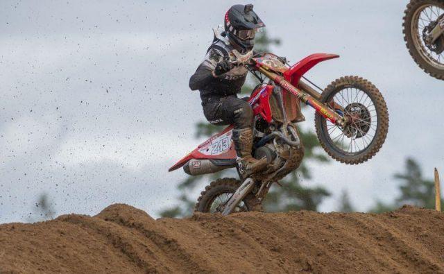 Tim Gajser je slabo štartal v obeh vožnjah. FOTO: Honda Racing