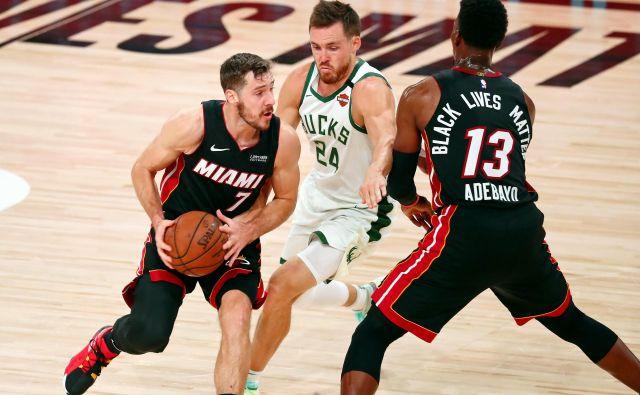 Goran Dragić bo moral počakati na preboj v konferenčni finale lige NBA. FOTO: Kim Klement/Usa Today Sports