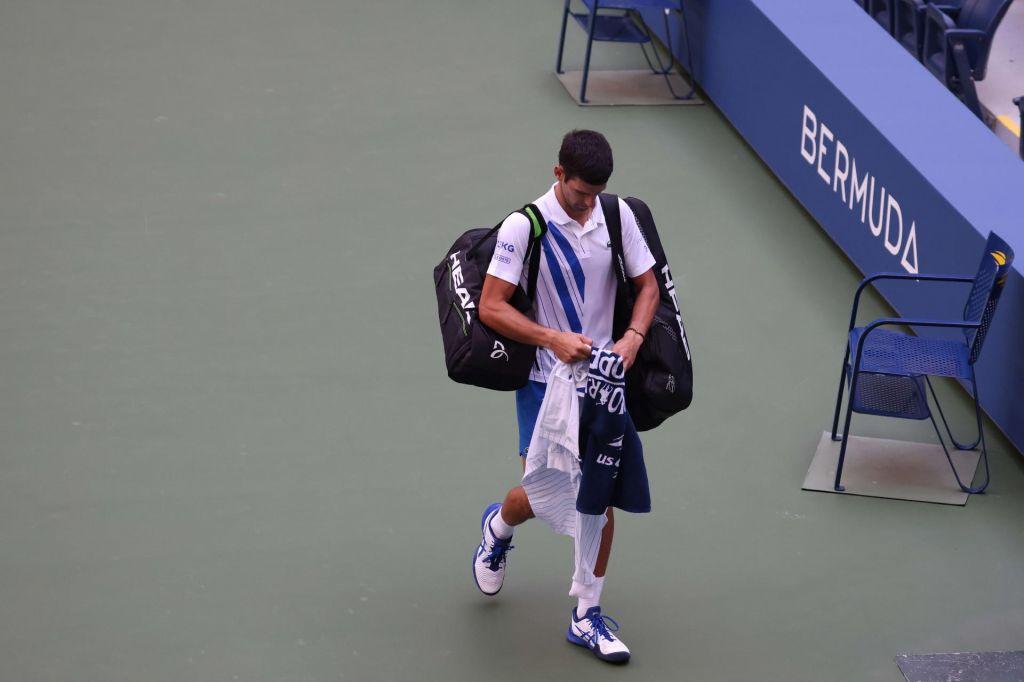 FOTO:Đoković izgubil živce in je diskvalificiran