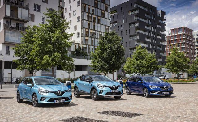 Družina hibridov FOTO: Renault