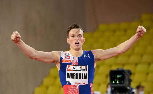 Ima že evropski, bo njegov tudi svetovni rekord? FOTO: Reuters