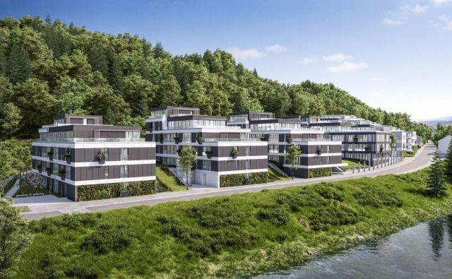 Bolgarski investitor je za sosesko Devana park vložil gradbeno dovoljenje, pridobil naj bi ga jeseni. Računalniški prikaz: Stoja Trade