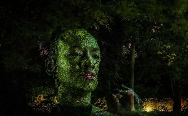 Prizor razstave umetniškega projekta Eclipse, ki bo del širšega dogodka svetovno priznanega umetnika Tonyja Ourslerja. FOTO: Voisin Thibaut