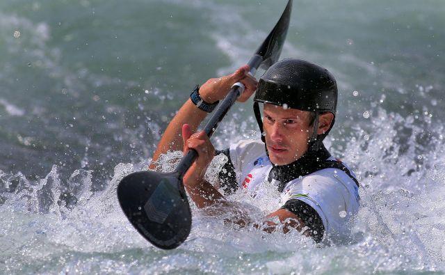 Jure Meglič je pred desetimi leti navdušil obiskovalce na svetovnem prvenstvu v Tacnu. FOTO: Blaž Samec/Delo