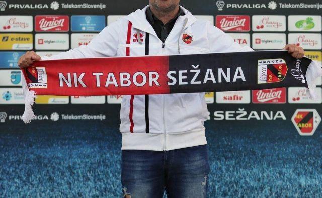 Sežanski nogometni prvoligaš CB24 Tabor je zamenjavo za Maura Camoranesija našel v trenerju mladinskega moštva Olimpije Goranu Stankoviću. FOTO: NK Tabor