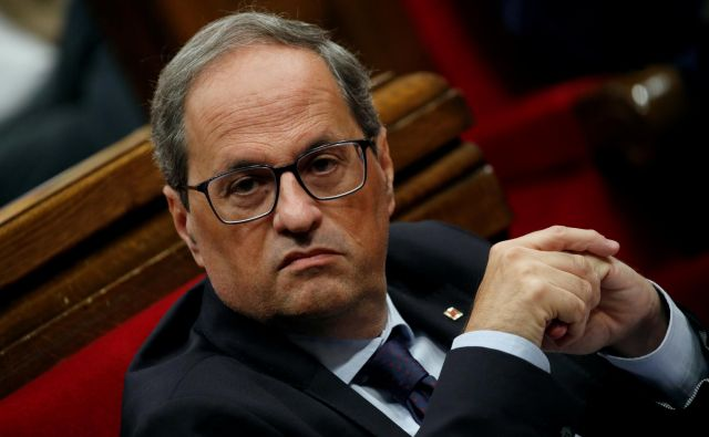 Katalonski predsednik Quim Torra<br /> Foto: Albert Gea/Reuters