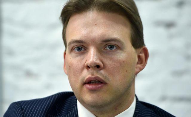 Eden od voditeljev beloruske opozicije Maxim Znak, ki so ga danes aretirali zamaskirani možje v civilu. FOTO: Sergei Gapon/AFP