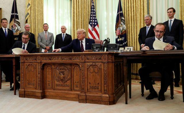 Gosta sta bila načrtno postavljena v diplomatsko senco. FOTO: Leah Millis/Reuters