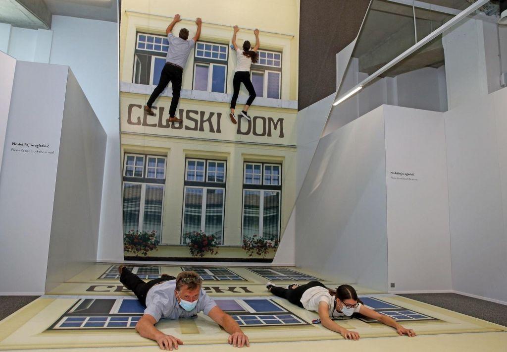 FOTO:Nekdanja veleblagovnica zdaj center zabavne znanosti