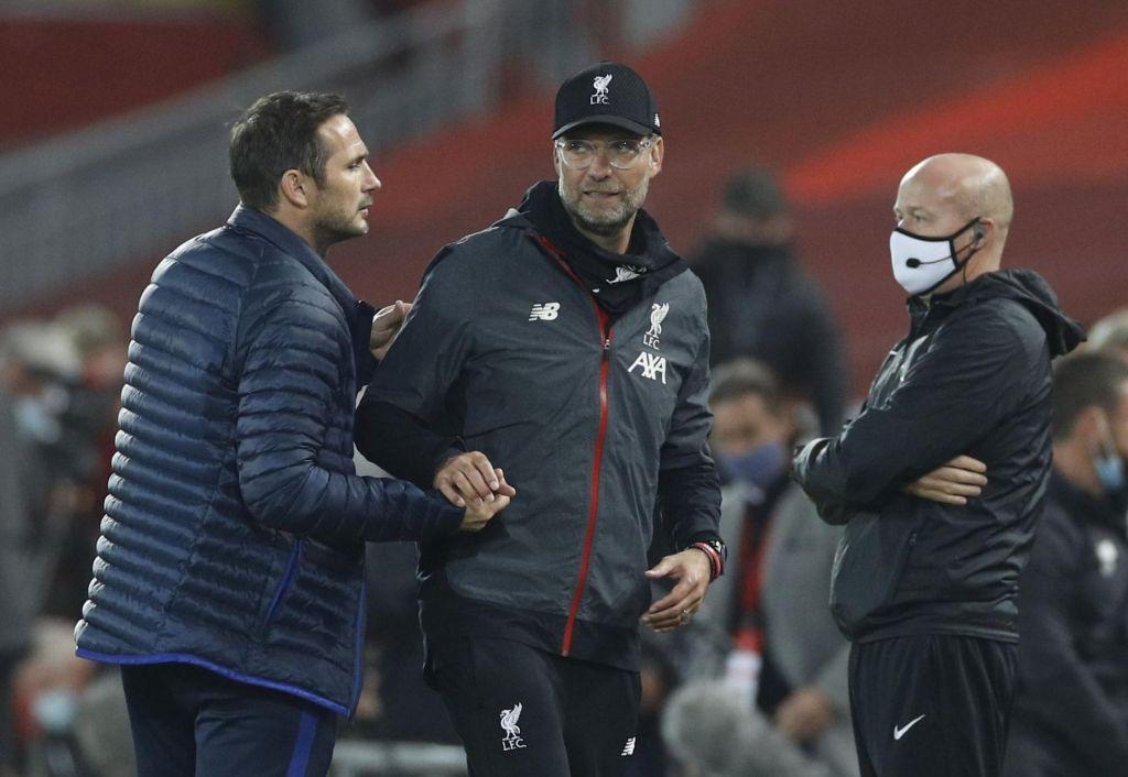 FOTO:Lampard ima še veliko povedati Kloppu (in Guardioli)