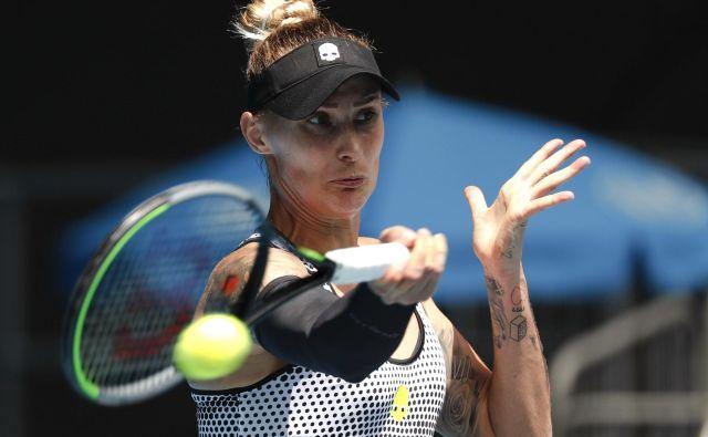 Polona Hercog se je prebila v četrtfinale turnirja v Istanbulu. FOTO: Issei Kato/Reuters