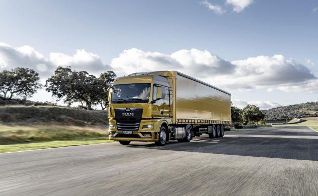 Podjetje Man, ki proizvaja težke tovornjake in avtobuse, se bo prestrukturiralo. FOTO: Man