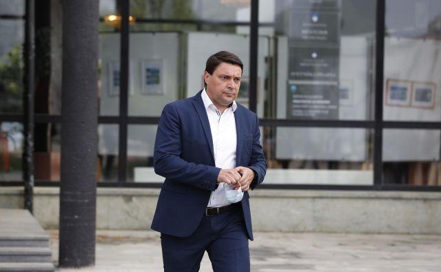 Dosedanji podžupan Peter Dermol je županski kandidat SD. FOTO: Leon Vidic/Delo