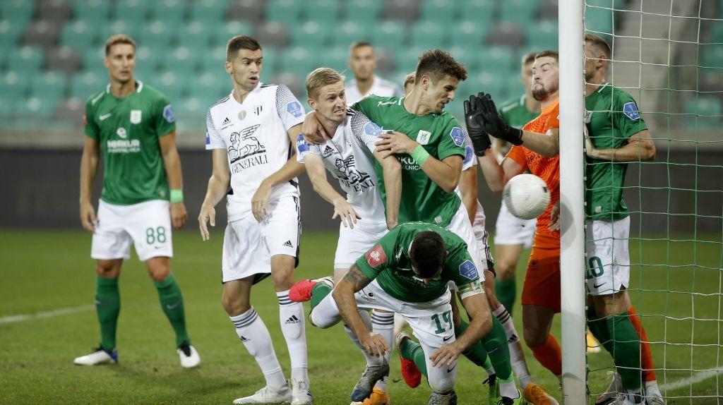 FOTO:Olimpija še brez sape, Maribor s Camoranesijem učinkovit