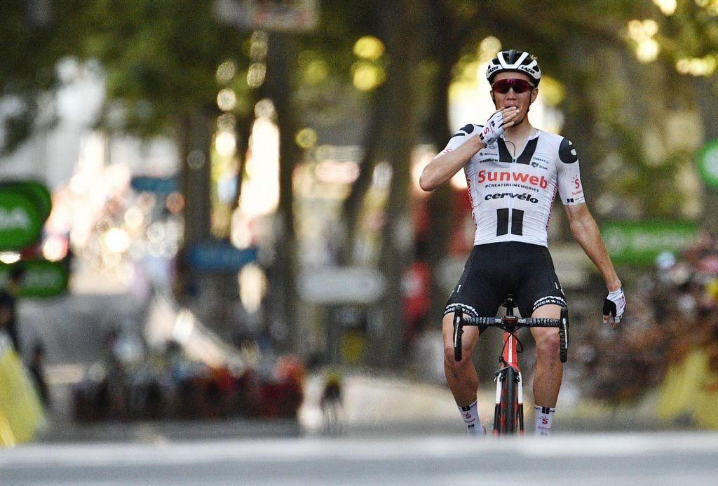 FOTO:Slovenci ne nehajo, Luka Mezgec, drugo mesto v 14. etapi