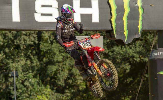 Tim Gajser je bil v drugi vožnji veliko boljši kot v prvi.FOTO: Honda Racing