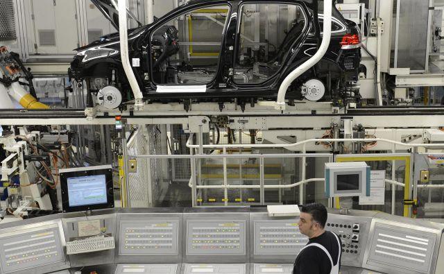 Proizvodnja trajnih izdelkov za široko porabo je bila julija v evrskem območju le za 3,8 odstotka manjša kot julija lani. FOTO: Reuters