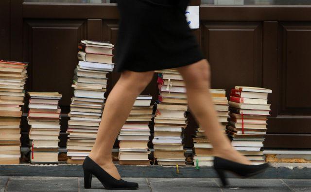 Roman je lahko močno zdravilo, saj bralcem omogoči bolje razumeti svet okrog njih.Foto Jure Eržen