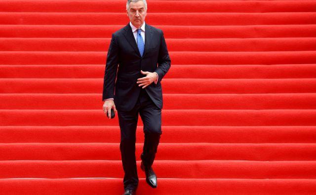 Razglasitev izrednih razmer bi lahko bila rešitev za predsednika Mila Đukanovića. FOTO:Foto Savo Prelević/AFP