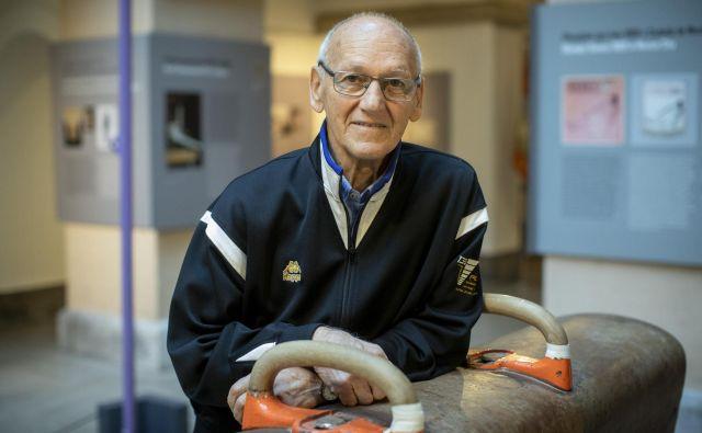 Mira Cerarja st. so lani, ob 55. obletnici njegovega tokijskega olimpijskega zlata, japonski organizatorji zdaj preloženih iger povabili v goste in mu spoštljivo razkazali, kako bodo videti OI leta 2020. Foto Voranc Vogel