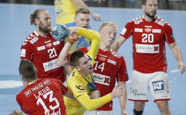 Tadej Kljun je bil prvo ime celjske ekipe, dosegel je šest golov. FOTO: Blaž Samec