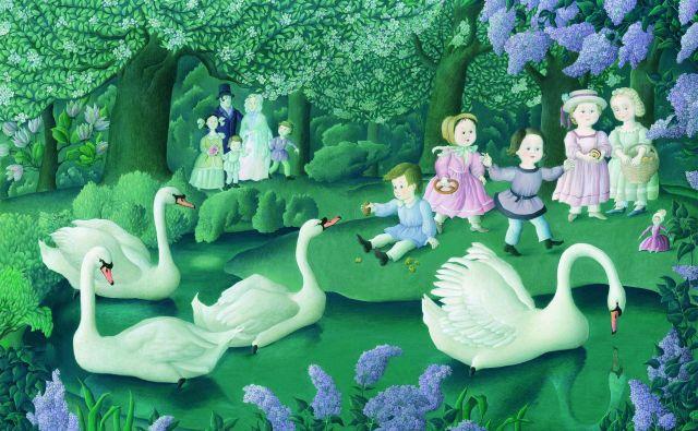 Ilustracija Marlenke Stupica k Andersenovemu <em>Grdemu račku</em>