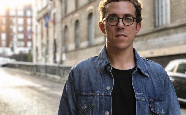 Valentin Gendrot deluje od leta 2014 kot neodvisni novinar. FOTO: Založba Goutte d'Or