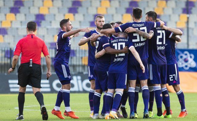 Maribor gre v štajerskem derbi s popotnico prepričlljive zmage proti Bravu. FOTO: Jure Banfi/Sobotainfo