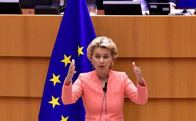 Predsednica evropske komisije Ursula von der Leyen<br /> Foto: John Thys/AFP