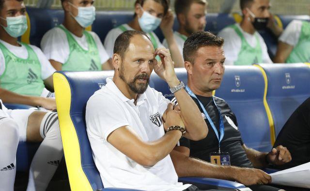 Ante Šimundža bo pripravil nogometaše Mure na naslednje evropske izzive. FOTO: Leon Vidic/Delo