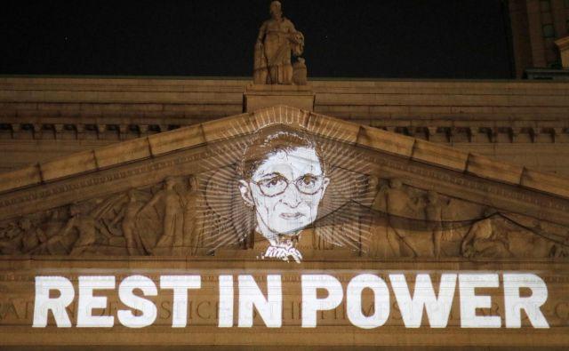 Ruth Bader Ginsburg je veljala za veliko zagovornico tako imenovanih liberalnih vrednot. FOTO: Andrew Kelly/Reuters
