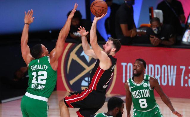 Goran Dragić (na fotografiji pri metu) tokrat ni imel svojega večera. FOTO: Kim Klement/Usa Today Sports