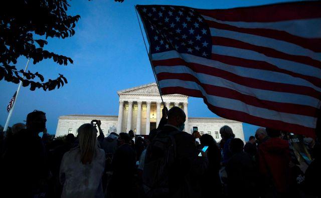 Bo vrhovno sodišče v ZDA kmalu dobilo šestega konservativnega sodnika? FOTO: Jose Luis Magana/AFP