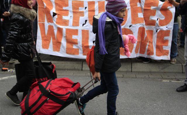 Pokazalo se je, da je begunska kriza evropski 11. september, v knjigi <em>Po Evropi</em> ugotavlja politolog Ivan Krastev.FOTO: Ina Fassbender/Reuters