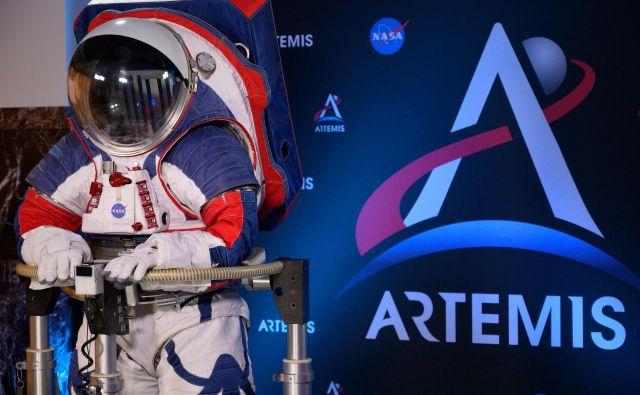 Leta 2024 bo na Luno odpotovala prva ženska, poudarjajo pri Nasi. FOTO: Andrew Caballero-reynolds/AFP