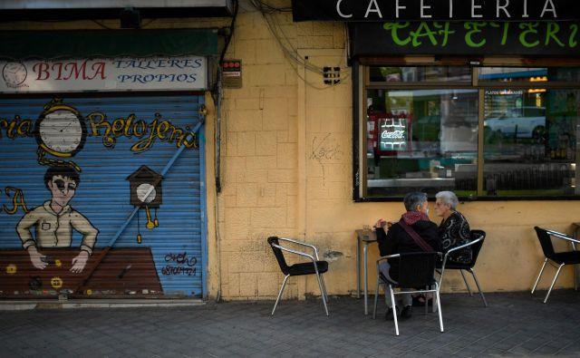 Karantena v Madridu. FOTO: Oscar Del Pozo/AFP