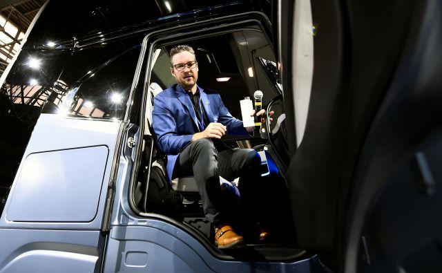 Ustanovitelj in izvršni direktor podjetja Nikola Trevor Milton je odstopil. FOTO: Massimo Pinca/Reuters